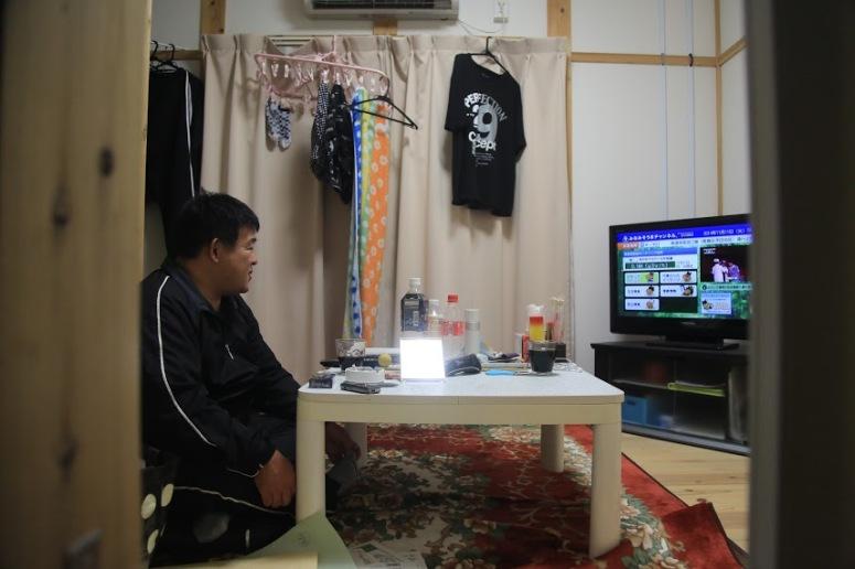 Watanabe-san's living space.